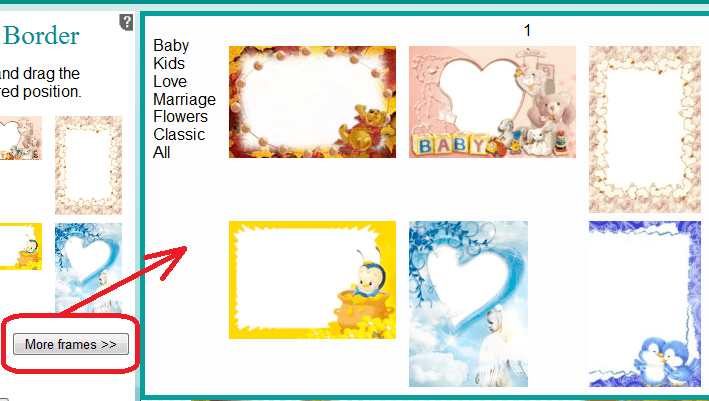 Add Picture Frame To An Image Free Online Image Editor